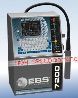 EBS-7200 ein schneller Einkopf-Industriedrucker vom Typ